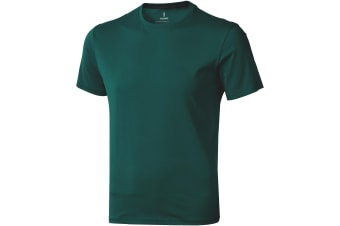 Elevate Mens Nanaimo Short Sleeve T-Shirt (Forest Green)