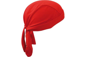 Myrtle Beach Functional Bandana Hat (Red)