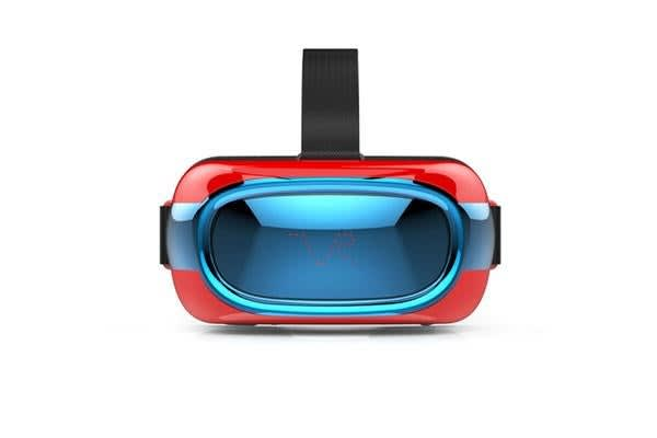 """3D Vr Virtual Reality Headset Glasses 5"""" 720P Bluetooth Wifi A7 Core Android Iphone"""