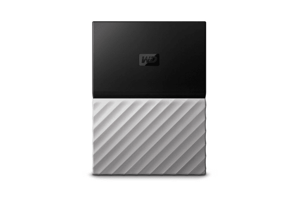 WD My Passport Ultra 4TB Portable Hard Drive - Grey (WDBFKT0040BGY-WESN)