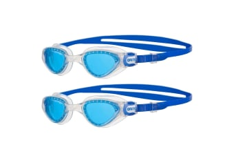2PK Arena Adult Cruiser Wide Swimming Goggles Anti-Fog Glasses UV Protection BL