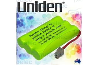 Genuine Uniden Bt446 Replacement For Bt909 Cordless Phone Battery New Nimh D