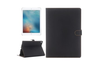 For iPad Pro 9.7 Inch Case  Vintage Durable Protective Leather Cover Black