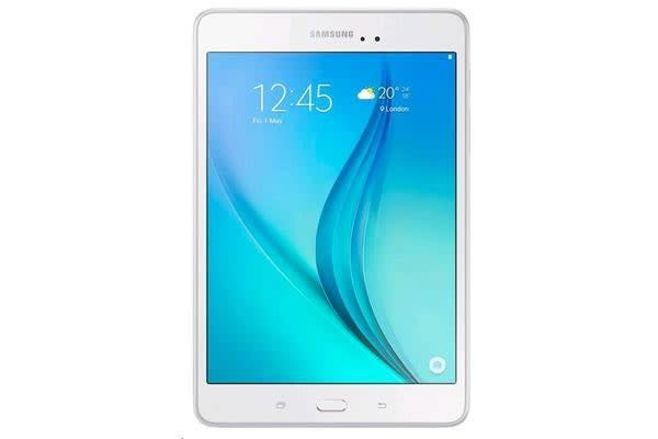 Samsung Galaxy Tab A 8.0 LTE (4G)  + WiFi (White) -Quad Core 1.2Ghz Android 5.0 16GB Storage Stay