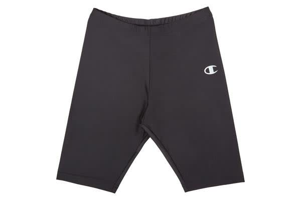 Champion Kids Nylon Bike Short (Black, Size 12C)