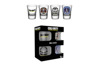 Call of Duty Shot Glasses (Pack of 4) (Multicoloured) (One Size)