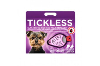 Tickless Pet Tick and Flea Repellent Pink