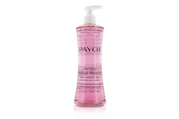 Payot Les Demaquillantes Lotion Tonique Fraicheur Exfoliating Radiance-Boosting Lotion - For All Skin Types (400ml/13.5oz)