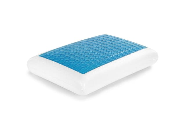 antimicrobial gel cooling pillow memory foam pin ergonomic