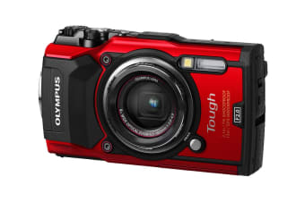 Olympus TG-5 Tough Digital Camera - Red