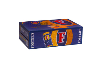 Foster's Lager Beer 24 x 375mL Cans