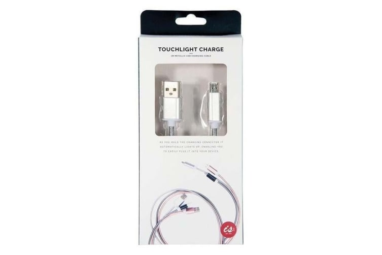 Touchlight Light-up USB Smartphone Charger - Android Micro USB