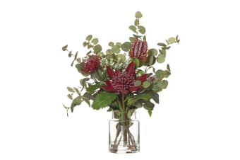 Rogue Native Waratah Mix Pail Vase 45x39x50cm