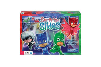 PJ Masks Surprise Slides Board Game