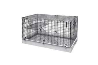 Lazy Bones Single Storey Small Animal Metal Cage (May Vary) (One Size)