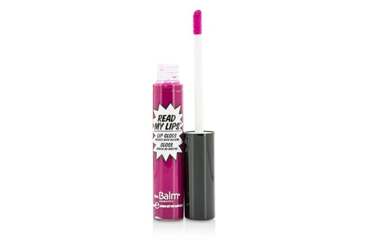 TheBalm Read My Lips (Lip Gloss Infused With Ginseng) - #Zaap! 6.5ml