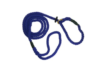 The Animate Company Outhwaites Gun Dog Rope Slip Lead (Navy)