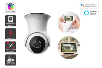Kogan SmarterHome™ Outdoor IP65 Full HD Pan and Tilt Smart Camera