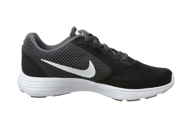 Nike Women's Revolution 3 Running Shoe (Black/Dark Grey/Anthracite, Size 6 US)