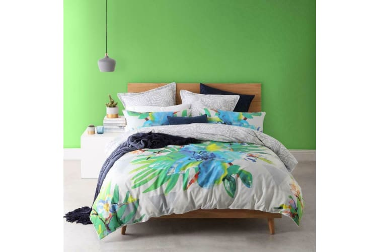 Mirage Tropic Quilt Cover Set Queen by Logan and Mason