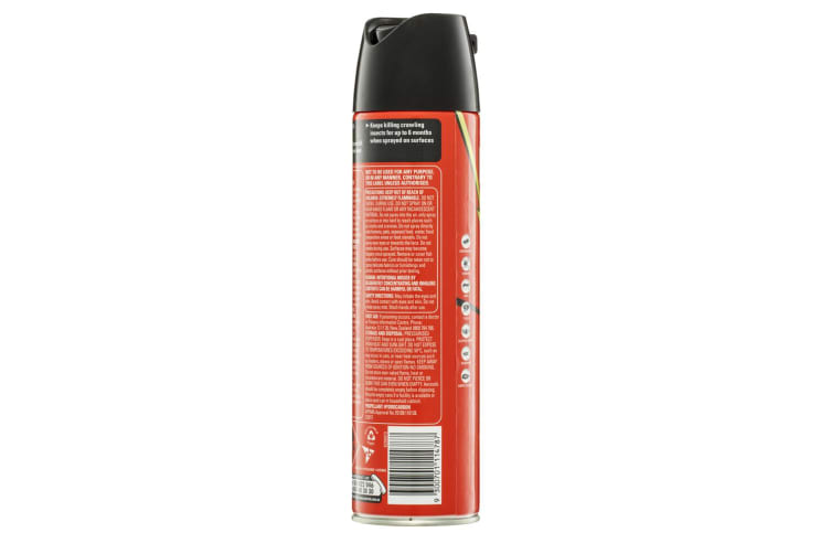 3PK Mortein Kill & Protect 350g Crawling Insect/Cockroach/Spider Surface Spray