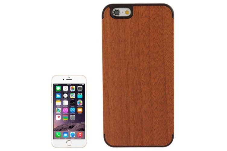 For iPhone 6S 6 Case  Sapele Wood High-Quality Durable Shielding Cover