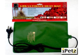 URS Reptile Small Ultimate Heat Mat for Snake, Lizard Terrariums (15x25cm) 10W