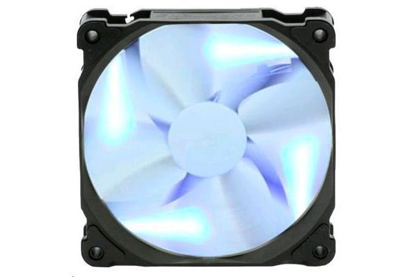 Phanteks PH-F140SP 140mm Black Frame White Blade Blue LED Premier Fan