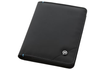 Marksman Odyssey RFID Passport Cover (Solid Black)