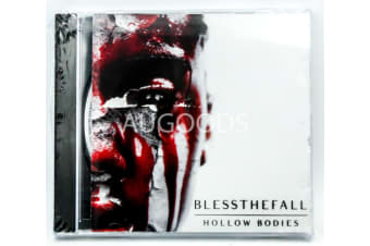 BLESSTHEFALL - Hollow Bodies BRAND NEW SEALED MUSIC ALBUM CD - AU STOCK