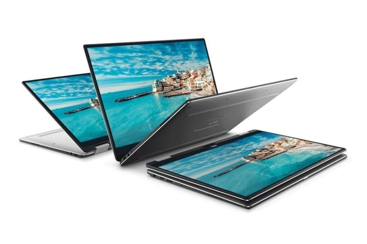 "Dell XPS 13 9365 2-in-1 13.3"" Full HD Laptop (i5-7Y57, 8GB RAM, 256GB, Silver) - Certified Refurbished"