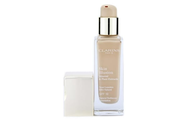 Clarins Skin Illusion Natural Radiance Foundation SPF 10 - # 107 Beige 402671 (30ml/1oz)