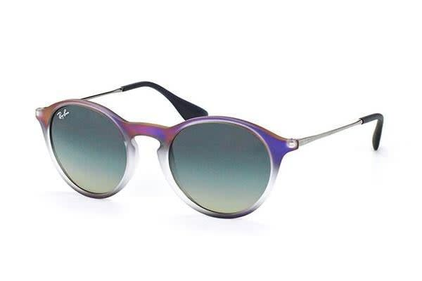 451ad64499 Ray-Ban RB4243 49mm - Violet Shaded (Grey Shaded lens) Unisex Sunglasses -  Kogan.com