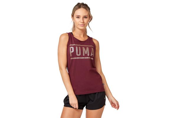 Puma Women's Athletic Tank Top (Fig, Size XS)