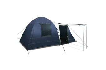 8 Person Dome Tent (Blue)