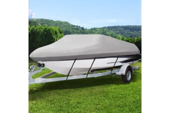 14- 16 ft Boat Cover Trailerable Marine Grade Waterproof 600D