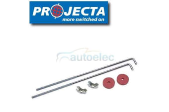 PROJECTA BB10 UNIVERSAL LONG BATTERY HOLD DOWN BOLTS 255mm FOR CLAMPS KIT