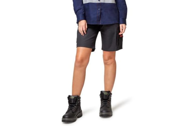 Hard Yakka Vented Cargo Shorts (Navy, Size 8)
