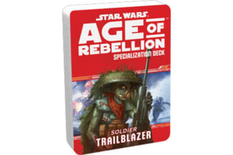 Star Wars Age of Rebellion Trailblazer Specialization Deck