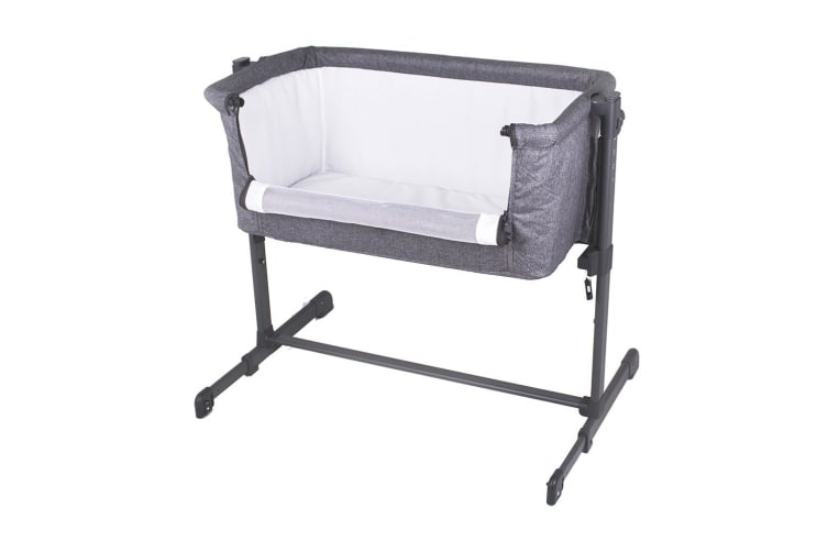 Childcare Snuggle Time Co Sleeper Bassinet Storm Cloud