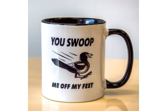 You Swoop Me Off My Feet Funny Aussie Magpie Mug