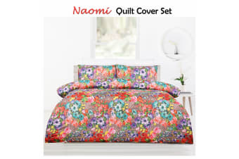Naomi Multi Quilt Cover Set by Big Sleep