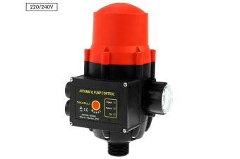 Automatic Water Pump Pressure Switch Controller - Red