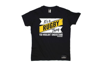 Up And Under Rugby Tee - Its A Thing Mens T-Shirt