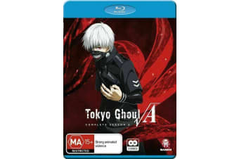 Tokyo Ghoul VA : Season 2 -Animated Series Rare- Aus Stock Blu-Ray NEW