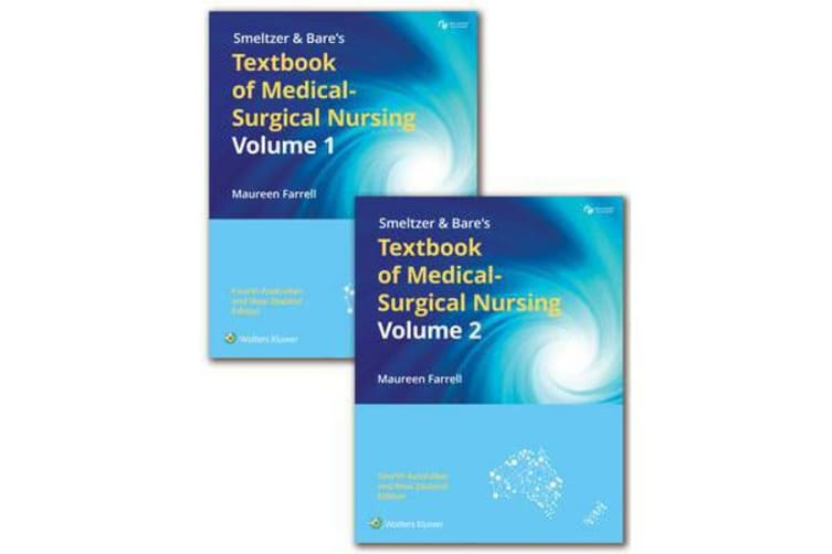 Package of Farrell's Smeltzer & Bare's Textbook of Medical-Surgical Nursing Print Book with PrepU 12 months Access Card