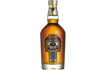 Chivas Regal 25 Year Old 700mL Bottle