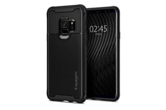 Spigen Galaxy S9 Rugged Armor Urban Case Black Premium Engineered Guards
