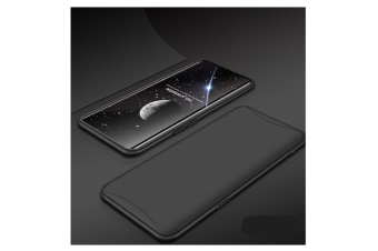 Frosted Shield Matte Plastic Ultra Thin Shockproof Case For Oppo Black R11 Plus
