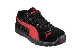 Puma Safety Silverstone Low Mens Safety Trainers (Black)